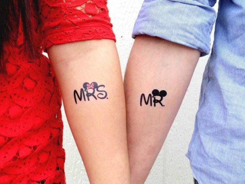 Парные татуировки для сестры и брата   подборка016