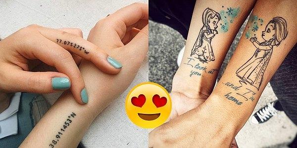 Парные татуировки для сестры и брата   подборка022