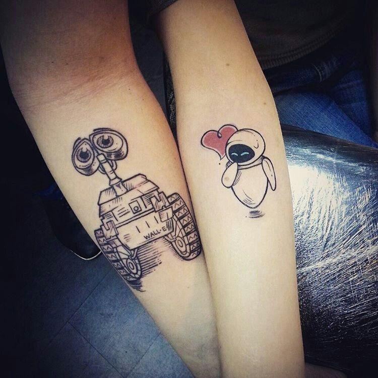 Парные татуировки для сестры и брата   подборка026