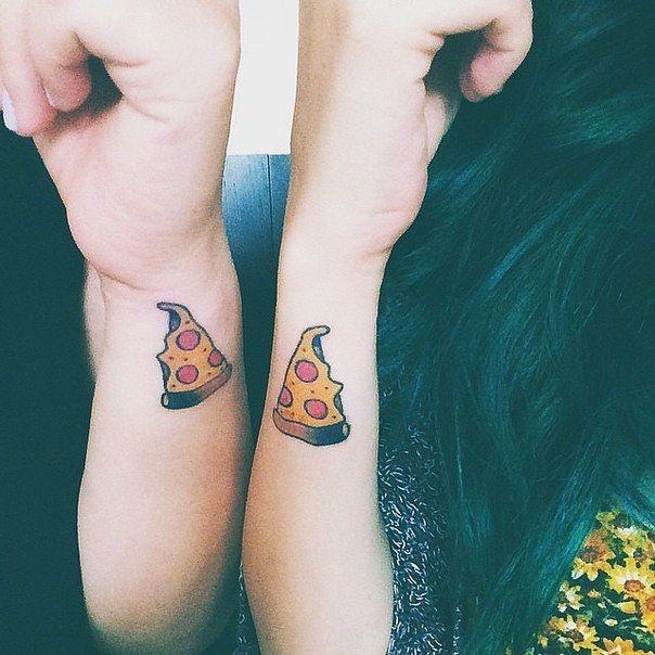 Парные татуировки для сестры и брата   подборка028