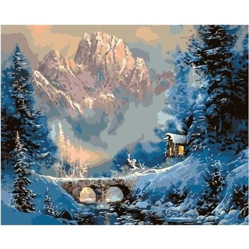 Пейзажи зимы картины и фото 003