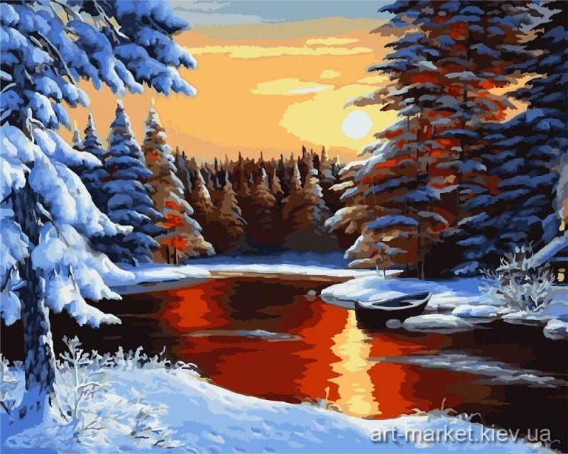 Пейзажи зимы картины и фото 005