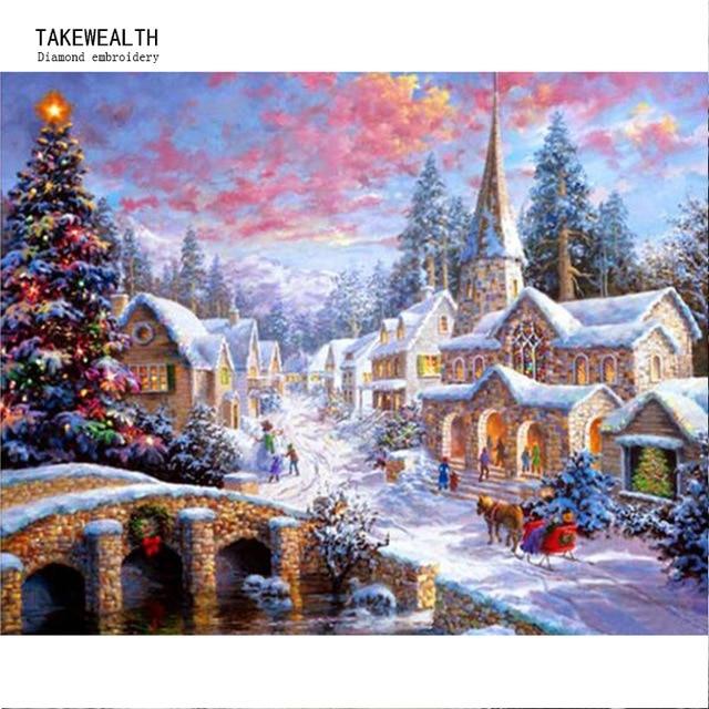 Пейзажи зимы картины и фото 006