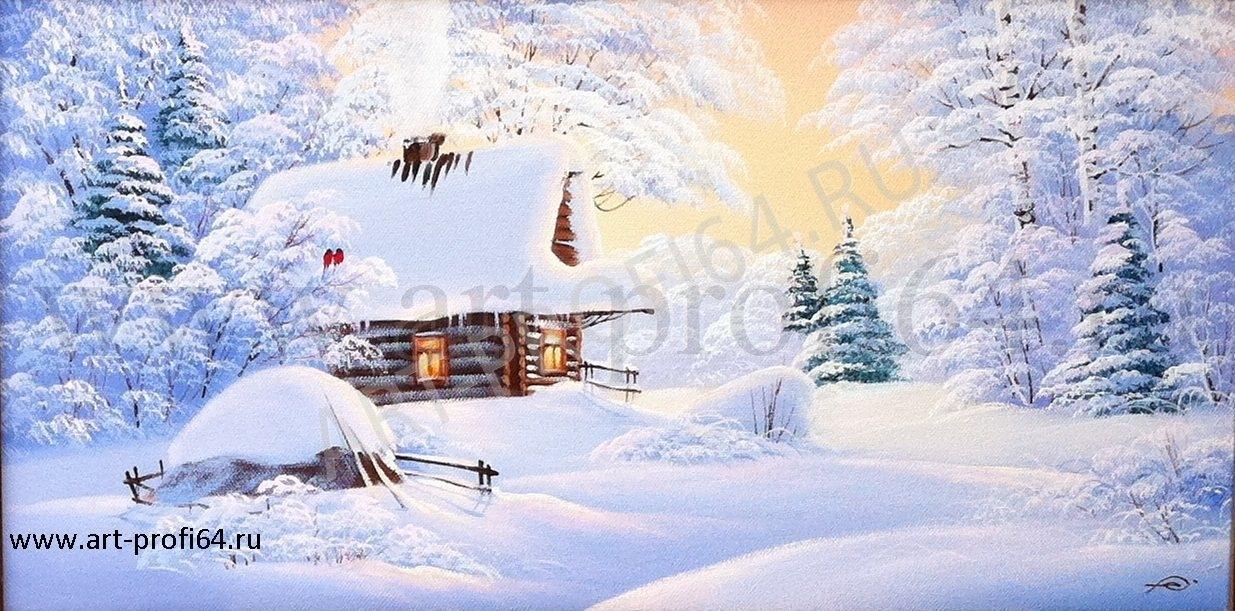Пейзажи зимы картины и фото 008