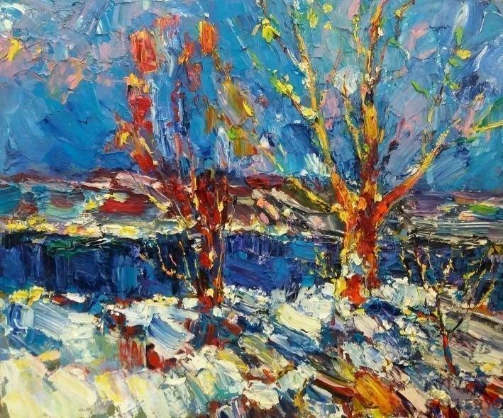 Пейзажи зимы картины и фото 009