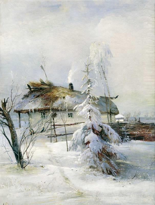 Пейзажи зимы картины и фото 014