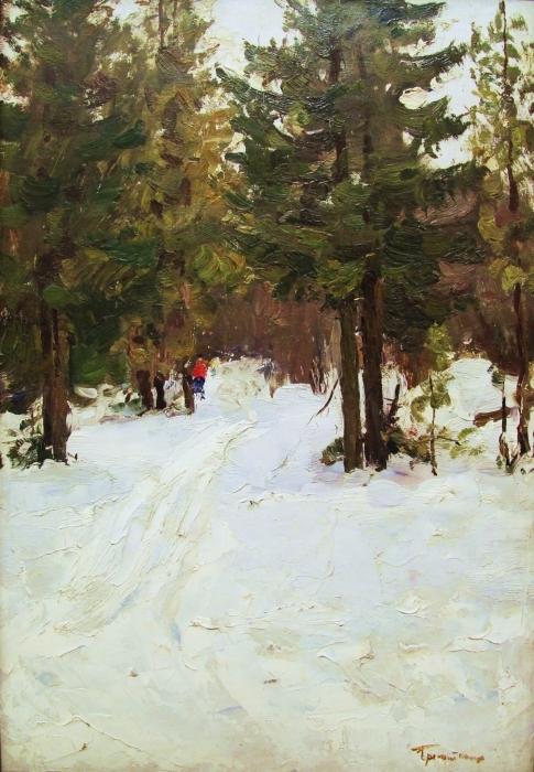 Пейзажи зимы картины и фото 016