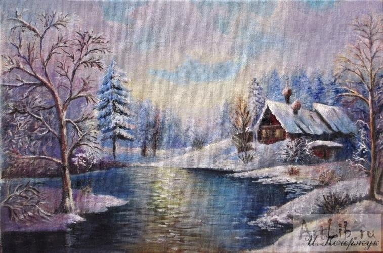 Пейзажи зимы картины и фото 017