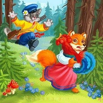 Петух из сказки Кот и Петух картинки 006