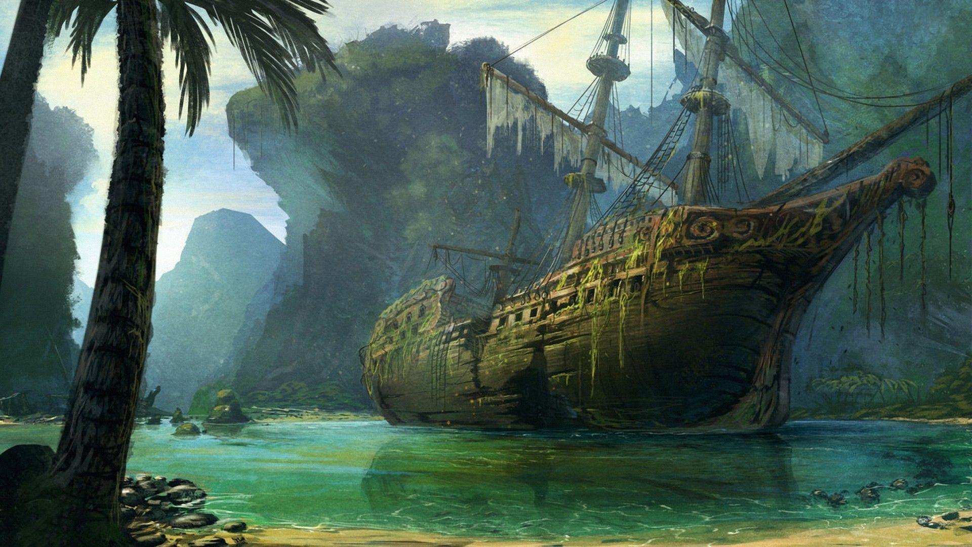 Пиратские обои для рабочего стола   подборка002