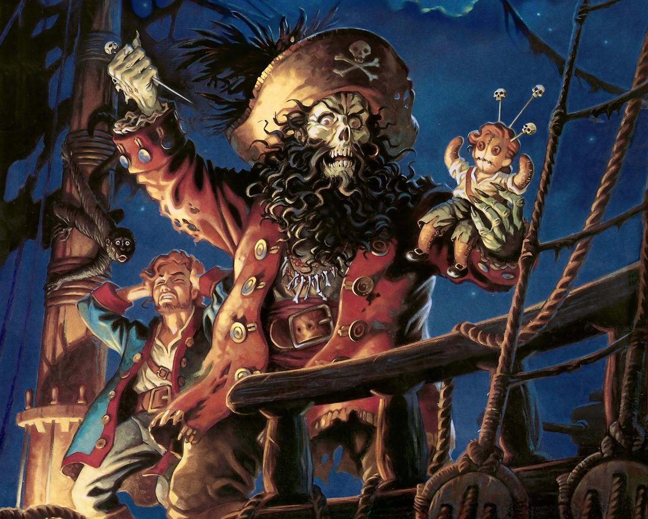 Пиратские обои для рабочего стола   подборка007