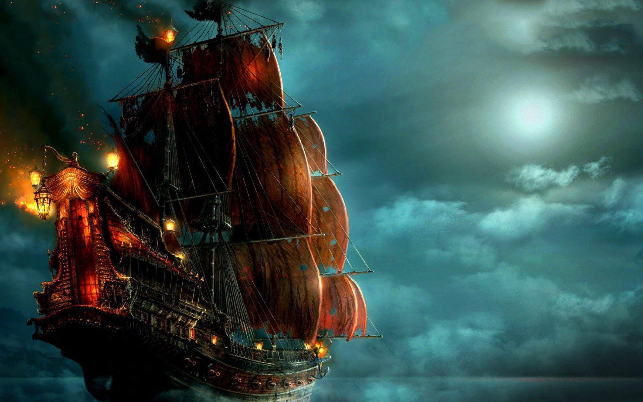 Пиратские обои для рабочего стола   подборка008
