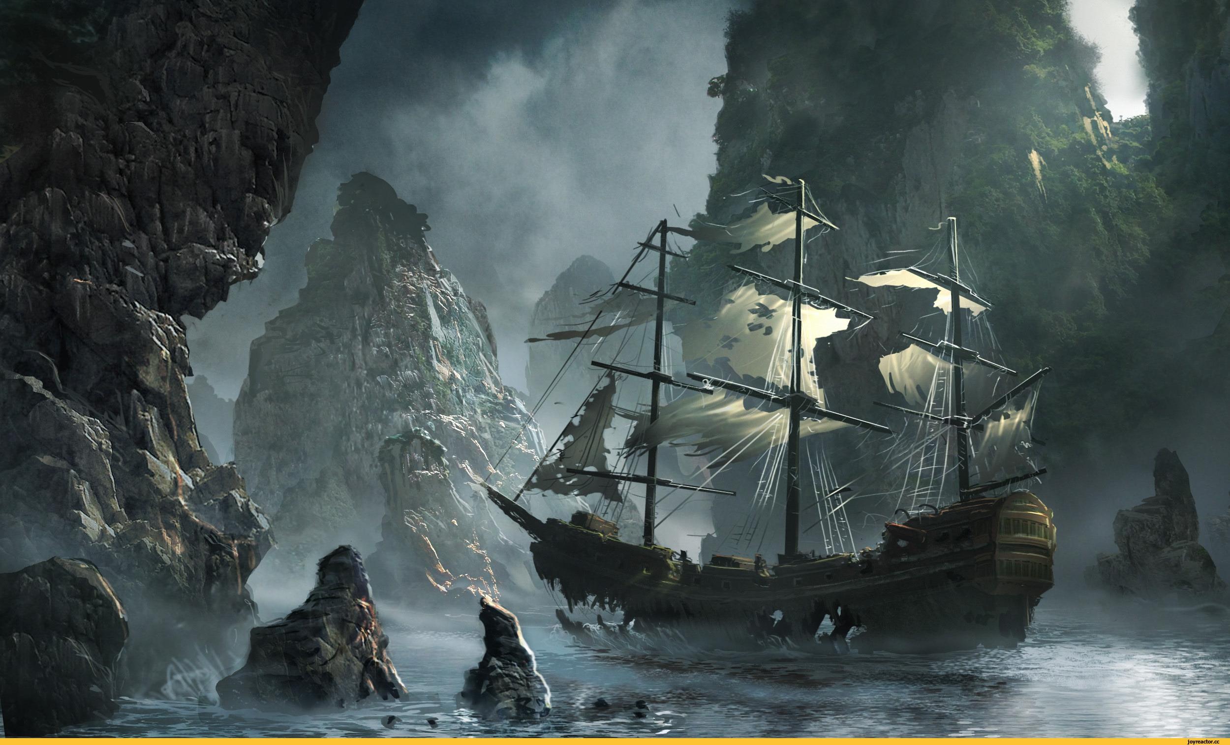 Пиратские обои для рабочего стола   подборка009