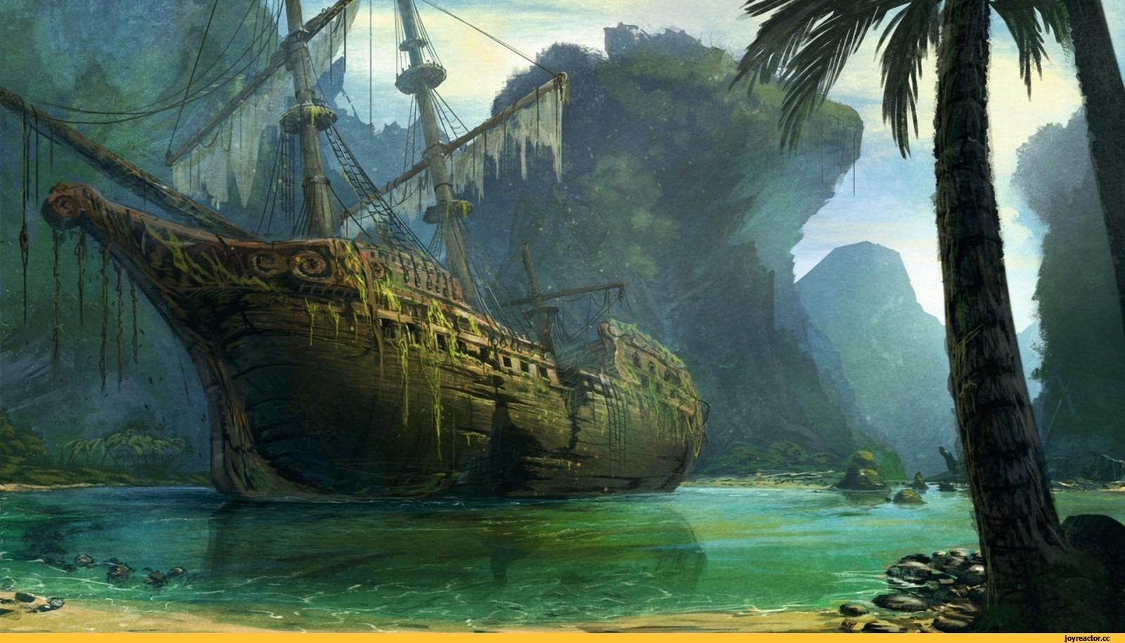 Пиратские обои для рабочего стола   подборка016