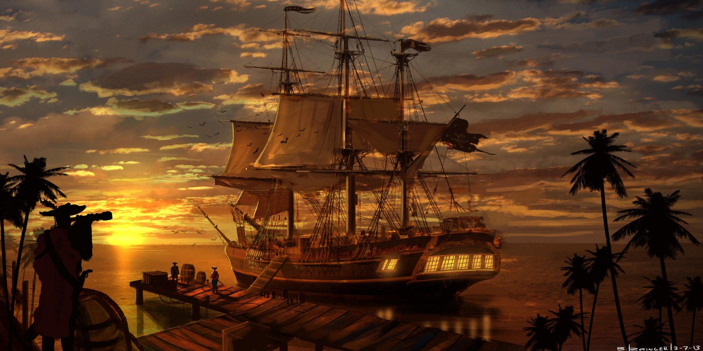 Пиратские обои для рабочего стола   подборка017