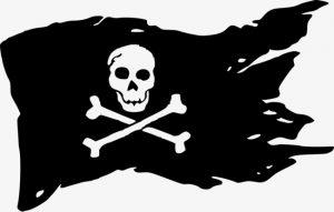 Пиратский знак корабля череп и кости   картинки (18)