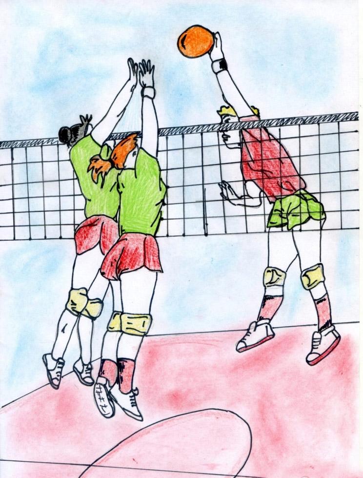 Рисунок про спорт картинки