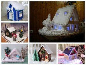 Поделки в детский садик новогодние   картинки 027