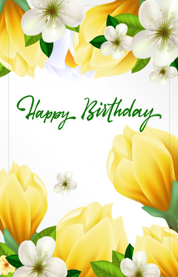 Поздравление с Днем Рождения фон для открытки (27)