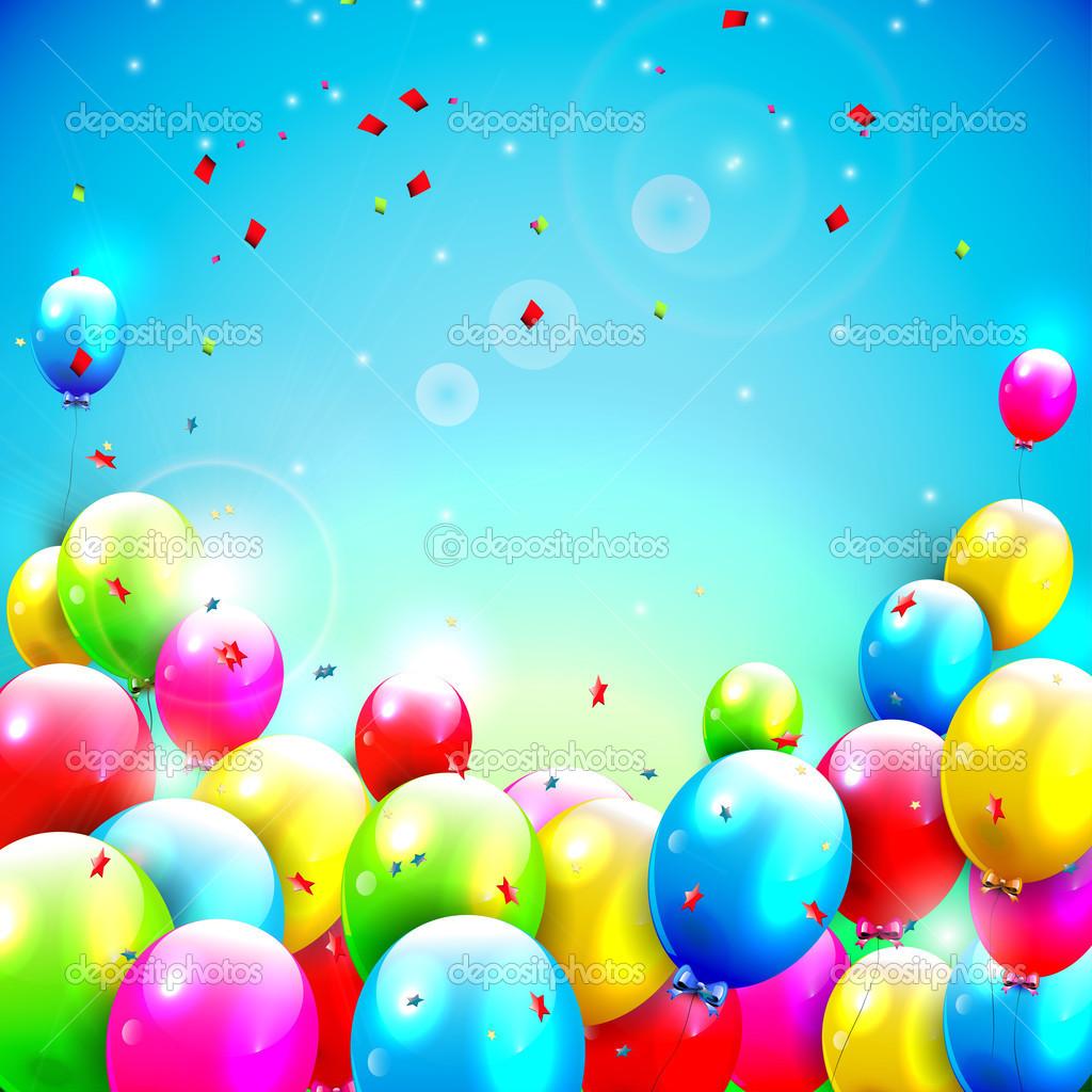 Поздравление с Днем Рождения фон для открытки (50)