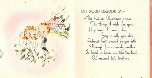 Поздравления на свадьбе на английском
