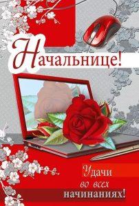 Поздравления в картинках с Днем Рождения начальнице (12)