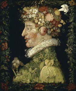 Портреты из овощей и фруктов   картинки 023