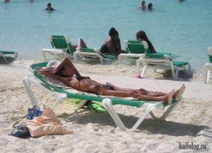 Приколы отдых на море   подборка021