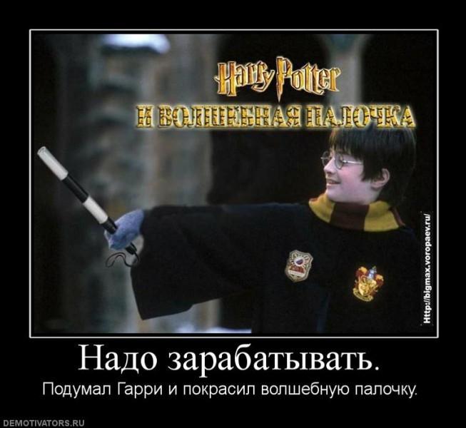Прикольные картинки Гарри Поттер027