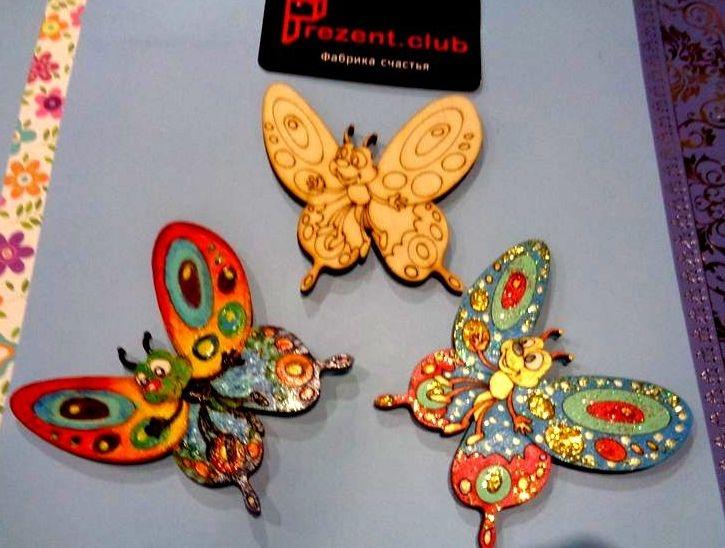 Прикольные картинки в руках бабочки 019