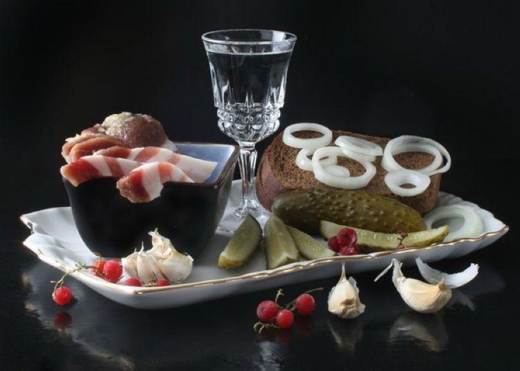 Прикольные картинки закуска и выпивка 023