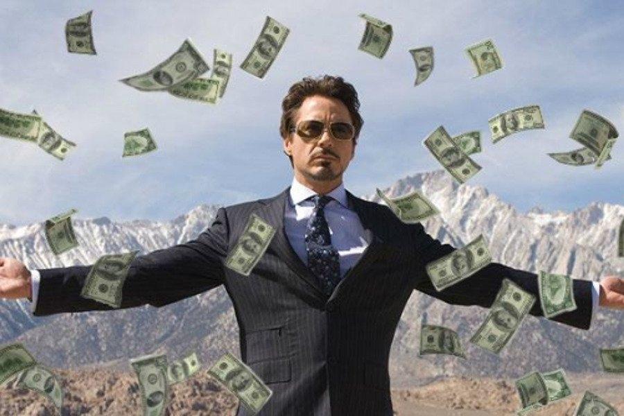 Прикольные картинки купается в деньгах   подборка018