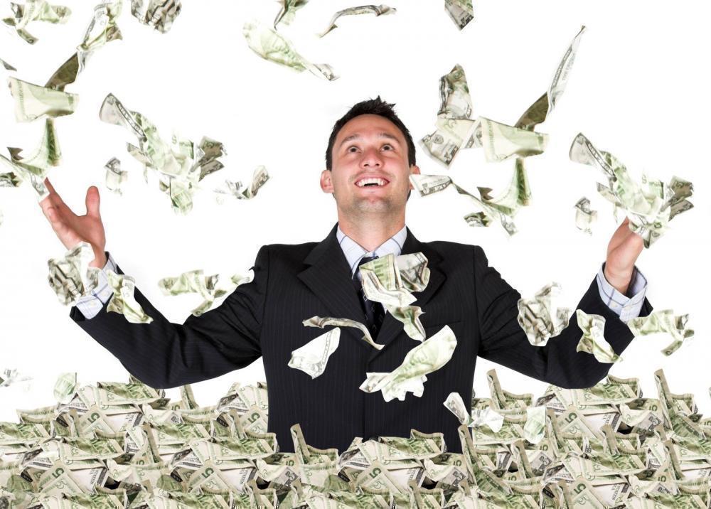 Прикольные картинки купается в деньгах   подборка020
