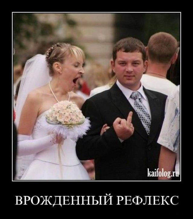 Прикольные картинки после свадьбы   подборка007