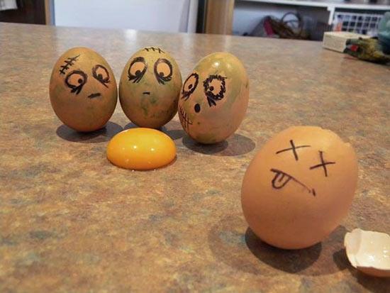 Прикольные картинки с яйцами   подборка 004