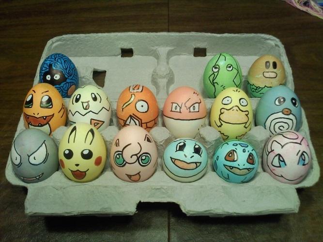 Прикольные картинки с яйцами   подборка 007