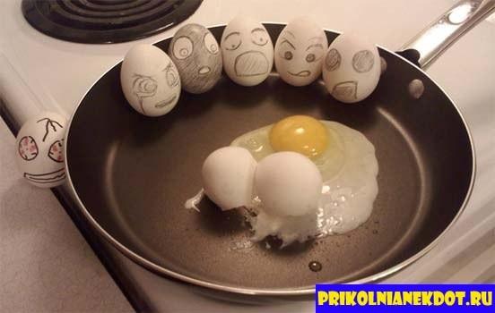 Прикольные картинки с яйцами   подборка 014