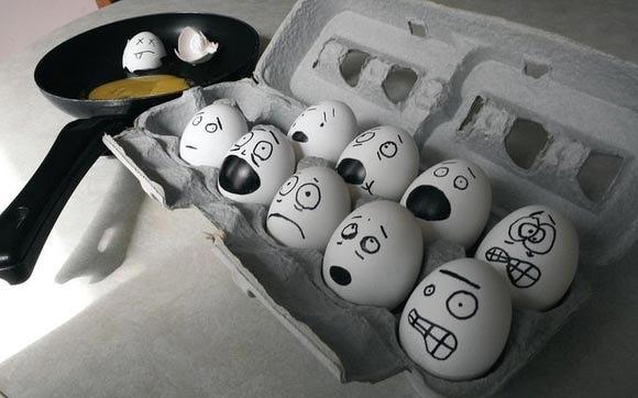 Прикольные картинки с яйцами   подборка 016