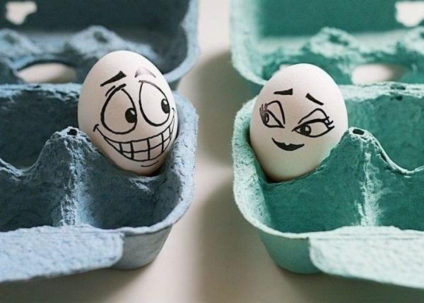 Прикольные картинки с яйцами   подборка 021