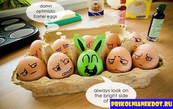 Прикольные картинки с яйцами   подборка 022