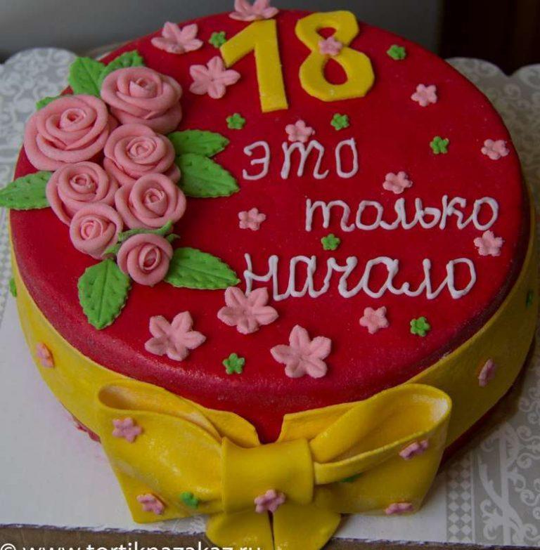 Открытка с днем рождения на 18 лет девушке фото