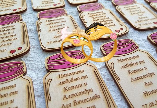 Прикольные подарки молодоженам на свадьбу своими руками   идеи фото 019