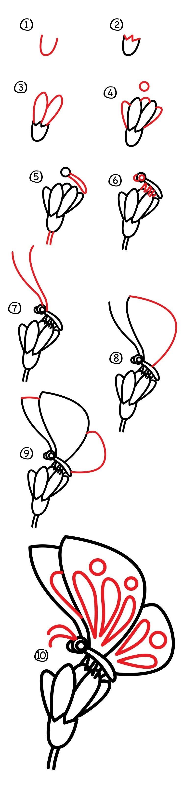 Простые и красивые картинки для срисовки еда (27)