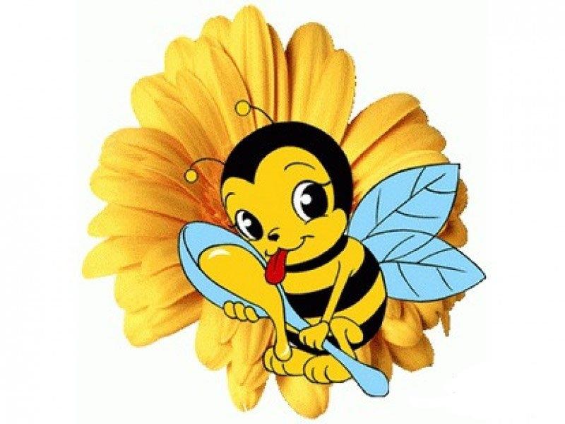 Картинка пчелки для детей в детском саду