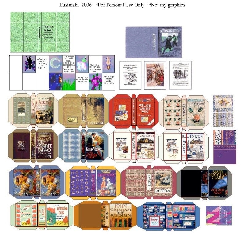 Распечатки коробки для кукол   фото и картинки002