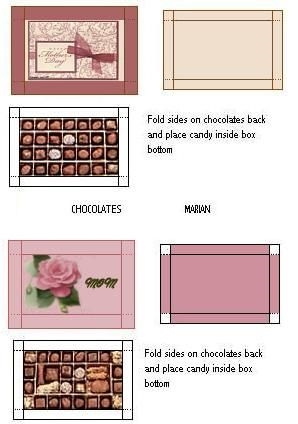 Распечатки коробки для кукол   фото и картинки025