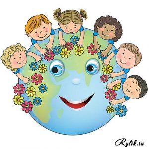 Рисованные картинки с детьми 023