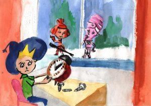 Рисунки Фиксики на конкурс014