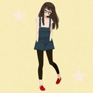 Рисунки аниме в полный рост для срисовки021