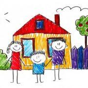 Рисунки домиков для детей 024